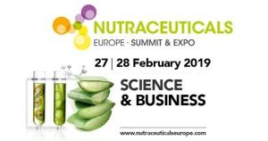Nutraceuticals Europe – Summit & Expo 2019, ya ocupa el 100% del espacio de la edición anterior