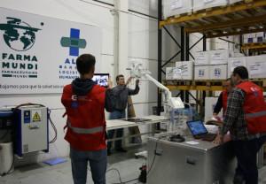 Farmamundi participa en el nuevo hospital para emergencias EMT2