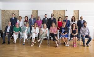 Nueva Junta de Gobierno de COF A Coruña