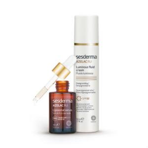 Doble acción contra las pigmentaciones de la piel