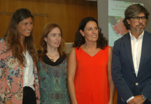 Ignacio Sánchez, Anna Bash y Maika López