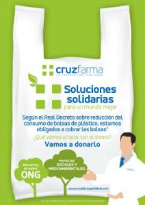 Proyecto solidario vinculado a la compra de bolsas de plástico en las farmacias