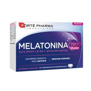 Concilia el sueño con Melatonina 1900 Flash de Forté Pharma