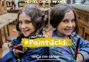#PaintGold, una iniciativa de NIÑOS CON CÁNCER