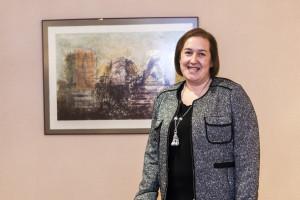 """""""Estoy orgullosa de haber firmado el primer convenio de colaboración con el Servicio Navarro de Salud"""""""
