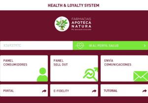 Health & Loyalty System de Apoteca Natura