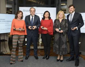 Cristina Tiemblo, Jesús Aguilar, Carmen Peña, Ana Mª Aliaga y Tomás Muret