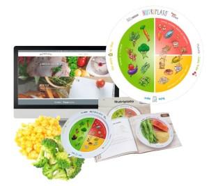 """""""Nutriplato"""", premiado por promover  la alimentación saludable en niños"""