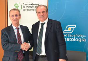 Dr. Juan J. Gómez-Reino Carnota, presidente de la Sociedad Española de Reumatología (SER) y Jesús Aguilar