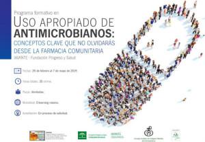 Nueva edición del curso sobre uso apropiado de antimicrobianos
