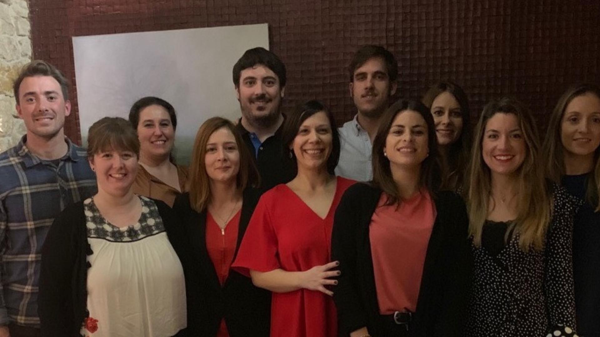 Foto de familia de la Junta Directiva de SEFAC
