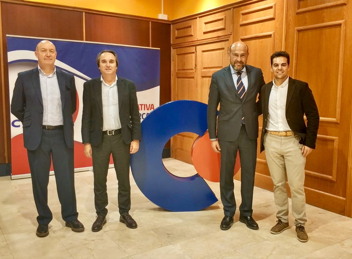 Juan Antonio Pérez, Santiago Artiaga, Alfonso Roquero y Marc Torredemer.