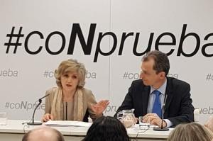 El Gobierno presenta la campaña #CoNprueba
