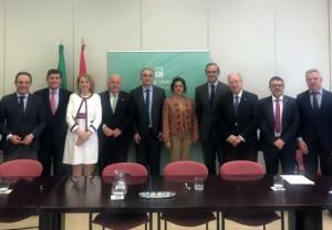 COFCO, presente en la reunión con el nuevo Consejero de Salud de la Junta de Andalucía