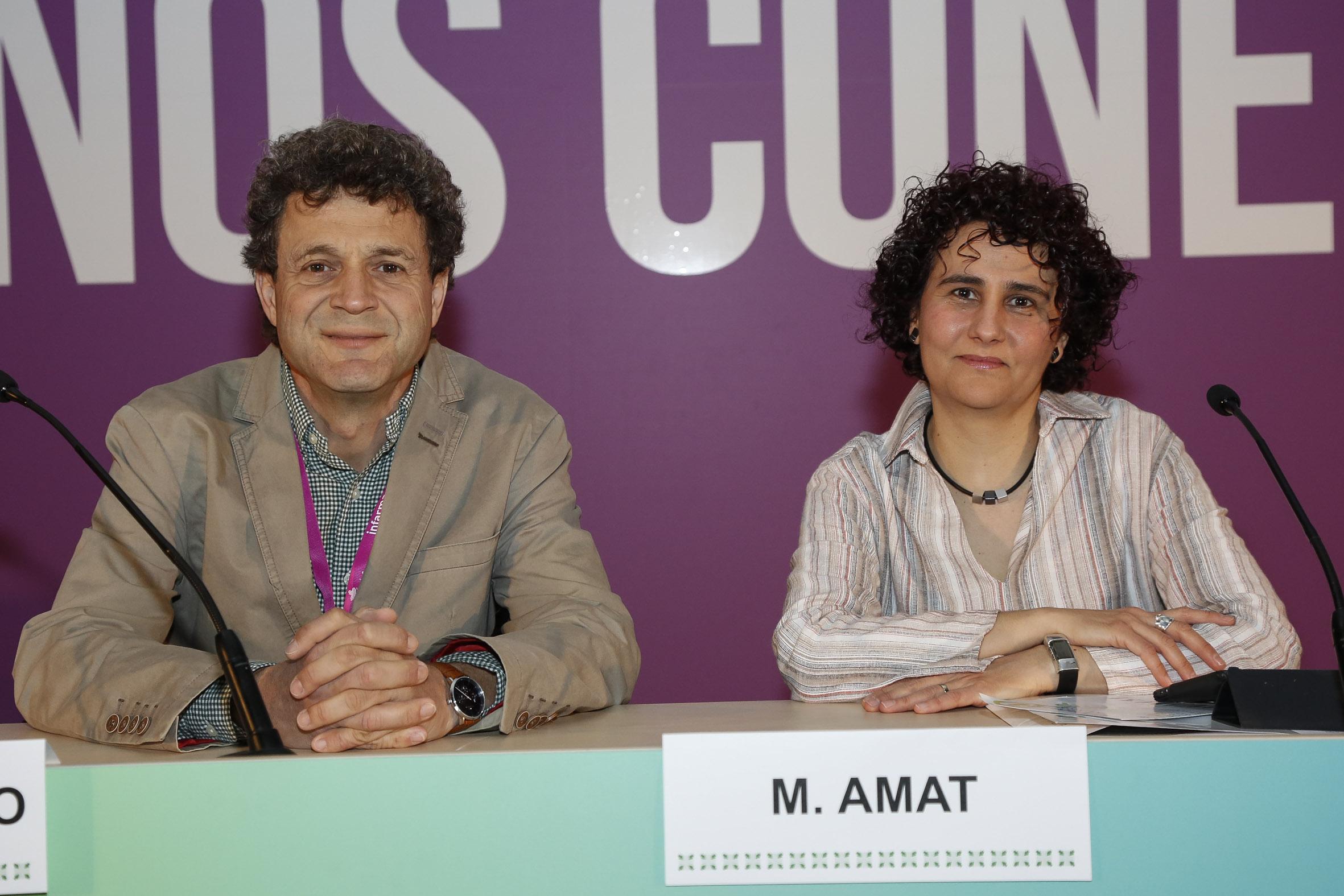 Rafael Maldonado y Marta Amat
