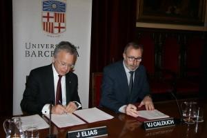 Colaboración entre Fedefarma y la Universitat de Barcelona