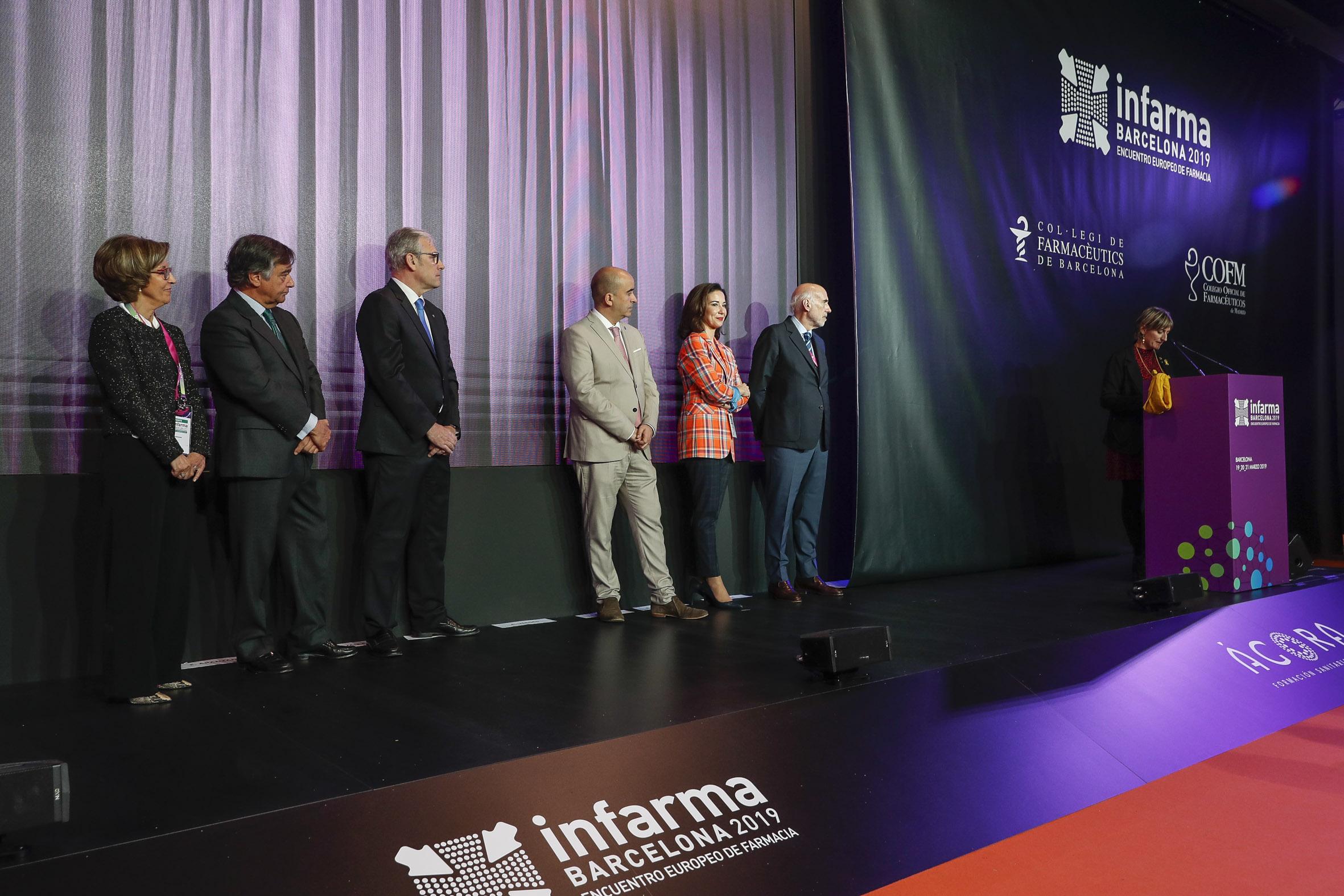 Un momento de la conferencia inaugural