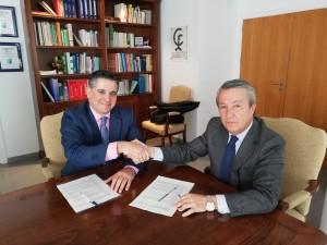 COF Córdoba y Asepeyo renuevan su convenio de prestación farmacéutica