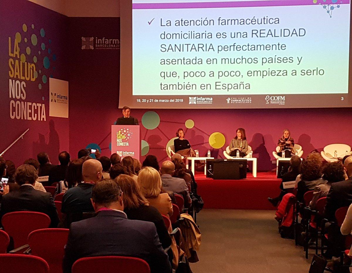 Luis González, durante su intervención en Infarma 2019 (FOTO: COFM)