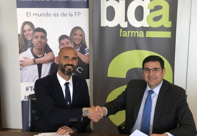 Manuel Ávila, director territorial de Medac, e Ignacio Pérez,