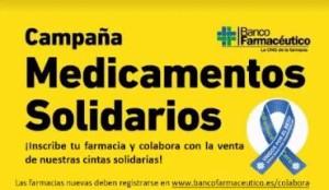 Campaña de Medicamentos Solidarios de la ONG Banco Farmacéutico