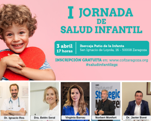COF Zaragoza organiza la I Jornada de Salud Infantil