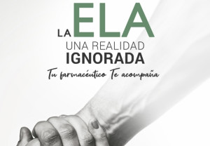 Los farmacéuticos de C-LM participan en una campaña de sensibilización de la ELA