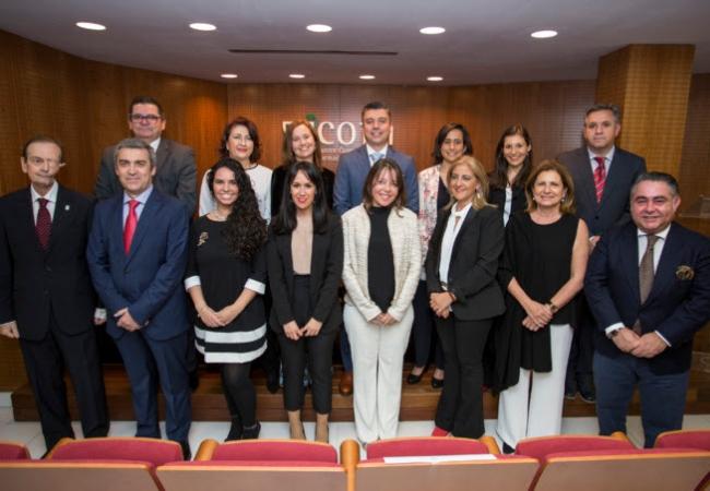La nueva Junta de Gobierno del COF de Huelva