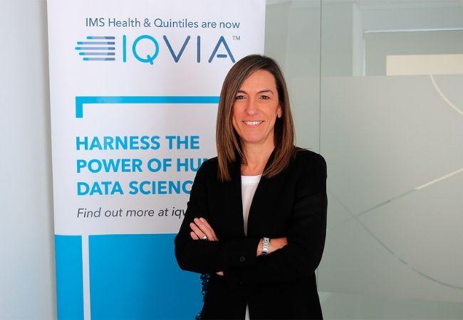 Concha Almarza, directora general de IQVIA