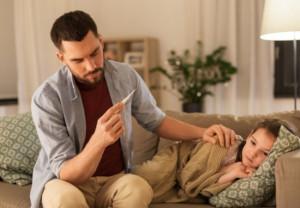 Consejos para tomar la fiebre a los niños