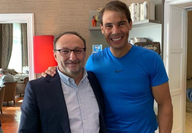 Juan Matji y Rafa Nadal