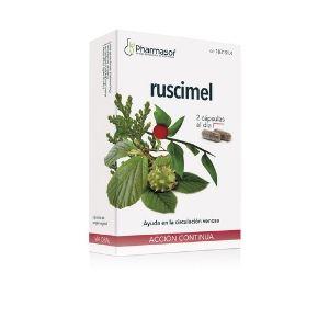 Activa la circulación con Ruscimel, de Pharmasor