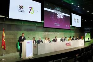 La Asamblea General del Grupo Cofares respalda por un 99% la gestión de Eduardo Pastor
