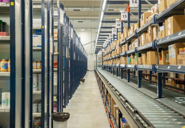 Nuevo almacén de Cofares, en Motril