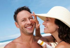 El buen tiempo y el cuidado de la cara y el cuerpo