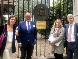 Delegación de AESEG ante la Representación Permanente de España ante la Unión Europea