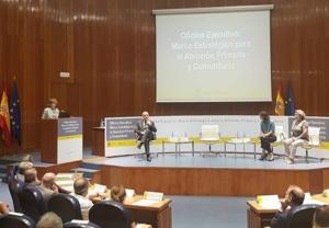 María Luisa Carcedo presenta la Oficina Ejecutiva para el Marco Estratégico para la Atención Primaria y Comunitaria
