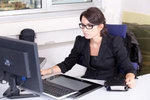 Ausencias en el trabajo a causa de problemas oculares