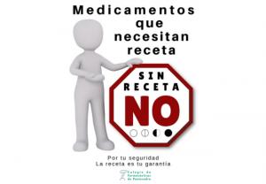 """""""Sin receta NO"""", nueva campaña de las farmacias pontevedresas"""