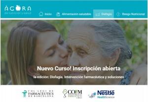 Primera edición del curso sobre intervención farmacéutica en disfagia