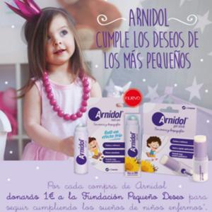Cumpliendo pequeños deseos con Arnidol