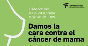 Los farmacéuticos dan la cara contra el cáncer de mama