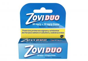 Combate el herpes labial con Zoviduo