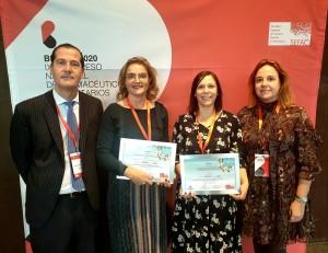 Foto de familia de los ganadores del III Premio SPD