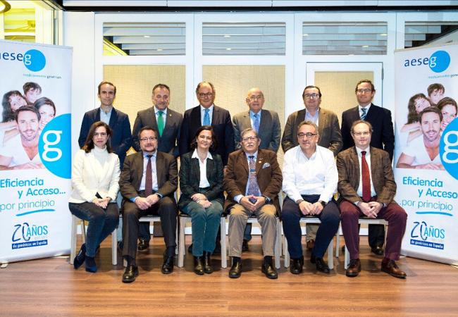 Asistentes a la reunión del Consejo Asesor de AESEG. Noviembre 2019.  Foto: Mauricio Skrycky