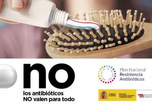 """Camapaña del Ministerio: """"Los antibióticos NO valen para todo"""""""