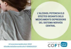 El COFT instala una carpa en Tarragona para sensibilizar sobre consecuencias del alcohol