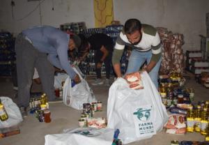 Farmamundi reparte kits nutricionales a familias sirias