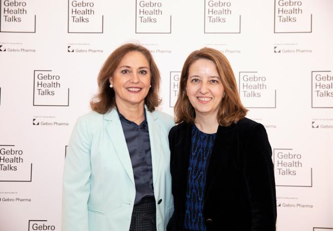 Dra. Pilar Riobó y Cristina Aranda, Heaf of Medical Affairs en Gebro Pharma