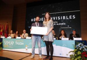 """""""Alegría con Gambo"""" Premio al mejor Proyecto en Ayuda Social Solidaria de la Fundación Prandi patrocinado por Laboratorios Viñas"""